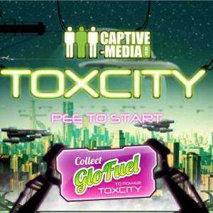 Toxcity Start Screen