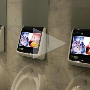 DrinkAware Washroom Ad Campaign