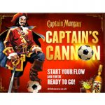 Captain Morgan and Captive Media unveil football-themed activation across London