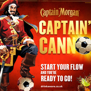 Captain Cannon Intro page