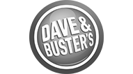 Bars with Urinal Games - Dave & Buster's